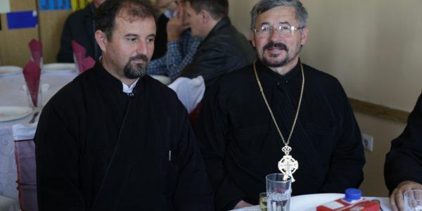 Парохијски свештеник Отац Милован Ђурић и Протојереј – ставрофор Урош Живковић