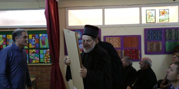 Поклони Епископу Шабачком и Градоначелнику Шапца