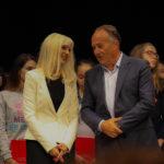 Зорица Јоцић, руководилац Школске управе и Министар Младен Шарчевић